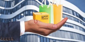 Einkaufstaschen, Packet im Angebot